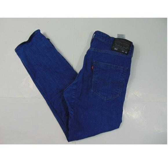 63450eb374b Levi's Jeans   Levis 511 Men 33 X 30 Slim Fit Denim Blue   Poshmark